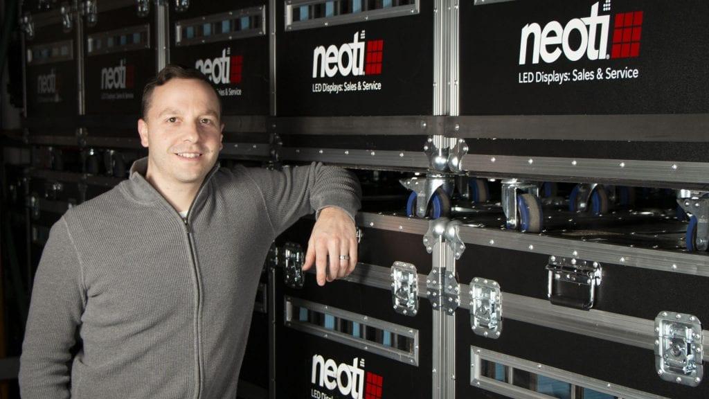 Neoti employee Patrick Foster