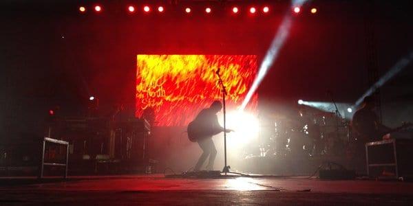 Neoti LED panels at concert