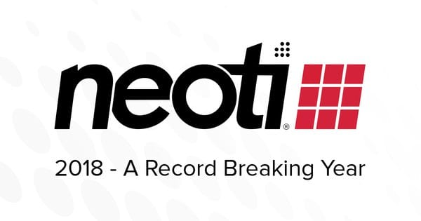 Neoti record breatking 2018