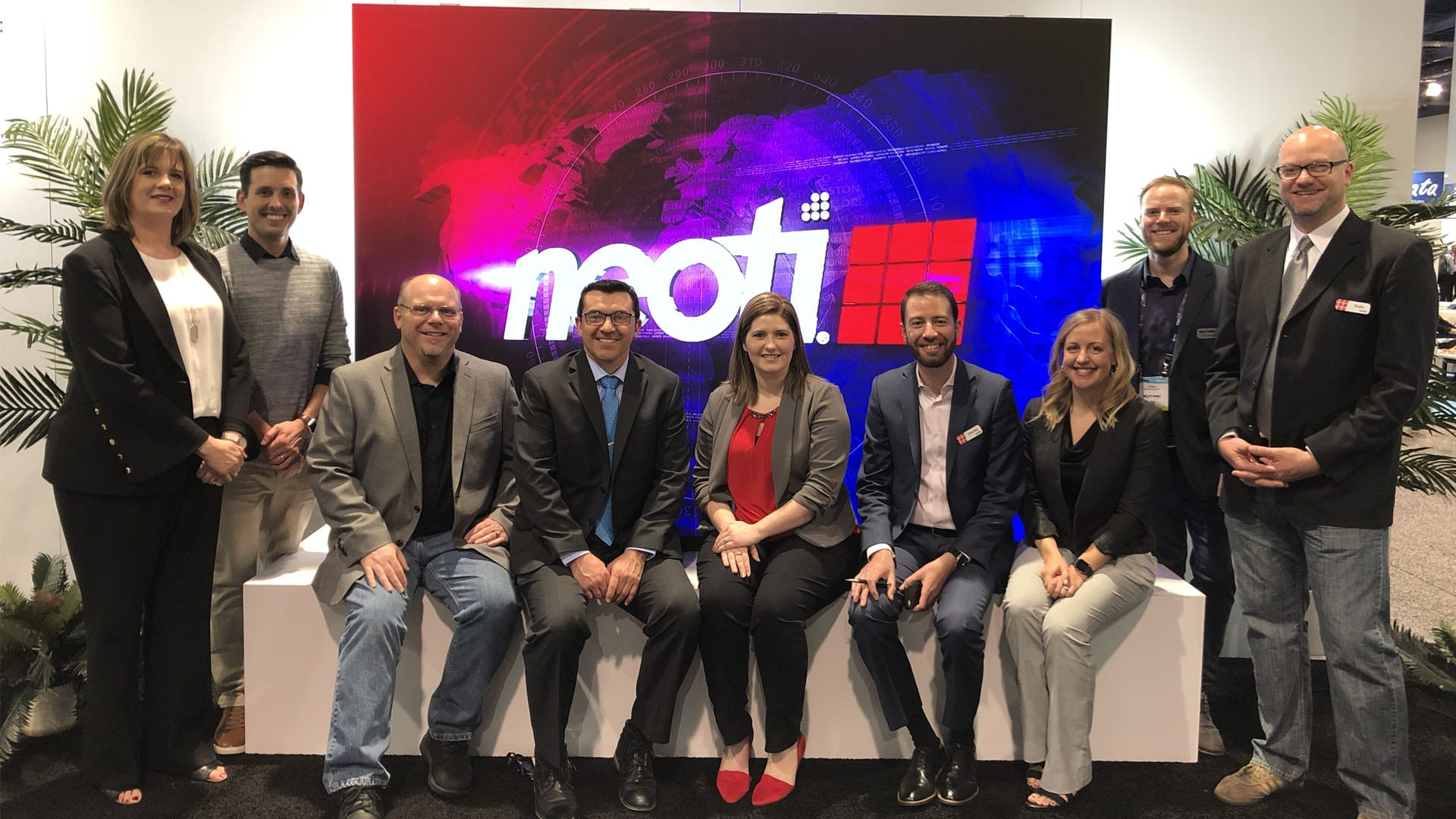 Neoti staff at NAB Las Vegas 2019