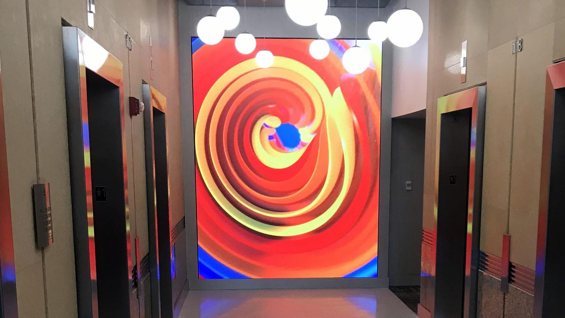 Neoti UHD 2.5 JLL Office Lobby