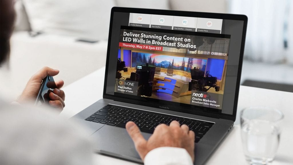 Direct-view LED webinars