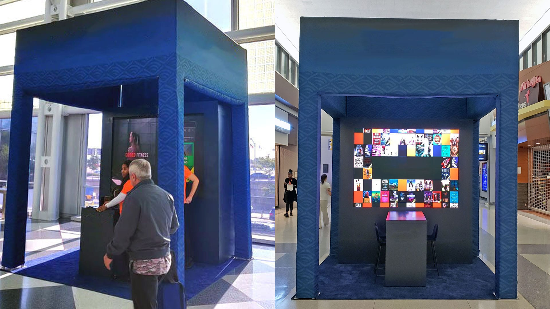 Airport Retail Kiosk LED Display